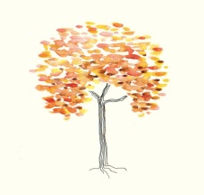 FALL (watercolor, 15x15)