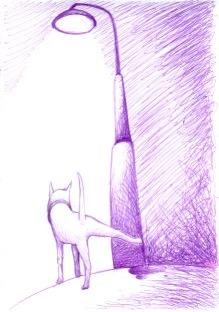 NIGHT (purple pen, 21x29)