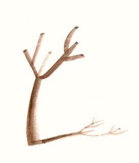 WINTER (watercolor, 10x10)